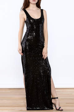 Alythea Sequined Maxi Dress