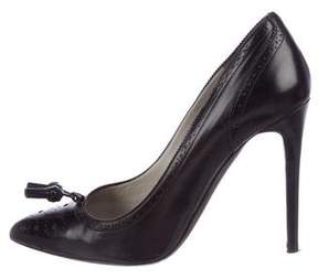 Tom Ford Leather Brogue Pumps