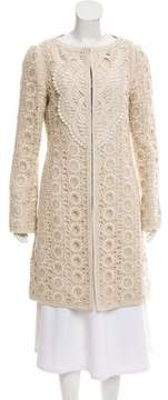 Andrew Gn Embroidered Short Coat