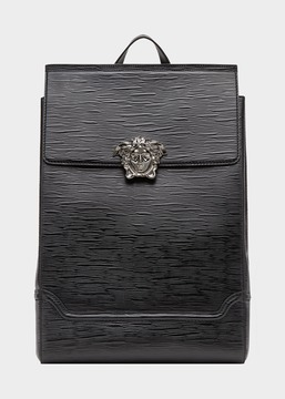 Versace Legno Leather Palazzo Backpack