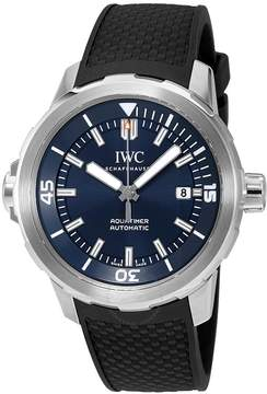 IWC Aquatimer Automatic Expedition Jacques-Yves Cousteau Blue Dial Men's Watch