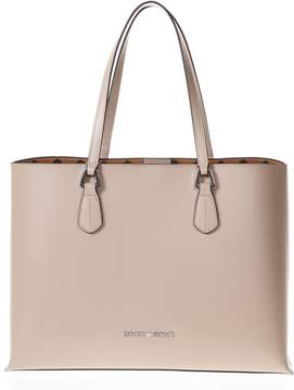 Emporio Armani Beige Shopping Bag With Removable Pouch