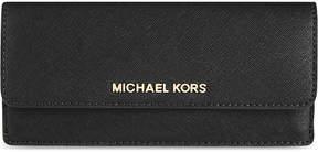 MICHAEL Michael Kors Jet Set Saffiano leather wallet - BLACK - STYLE