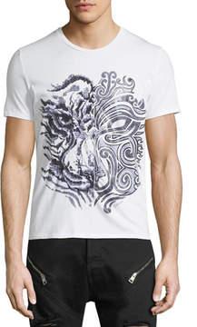 Just Cavalli Tiger Graphic T-Shirt