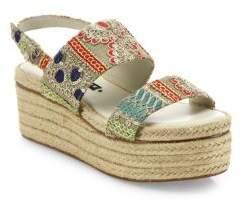Alice + Olivia Anastasia Platform Espadrille Sandals