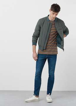 Mango Outlet Skinny medium wash Jude jeans
