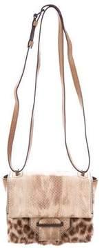 Reed Krakoff Kit Fur-Trimmed Bag