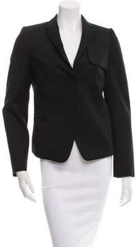 Calvin Klein Collection Wool Fitted Blazer