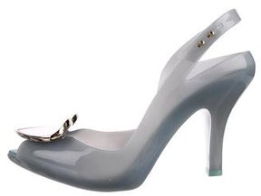 Vivienne Westwood Rubber Peep-Toe Pumps