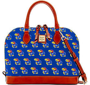 Dooney & Bourke NCAA University of Kansas ZipZip Satchel - ONE COLOR - STYLE