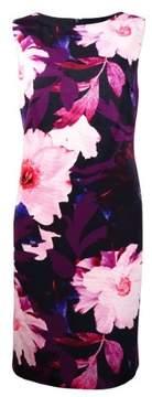 Vince Camuto Women's Floral Sleeveless Dress (6, Print)