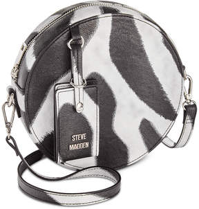 Steve Madden Teenie Animal Print Round Crossbody