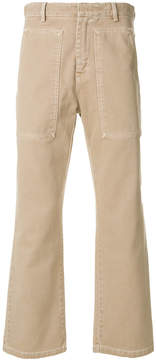 Cmmn Swdn flared tailored trousers