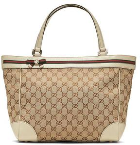 LUXE FINDS | Gucci Mayfair Canvas Tote