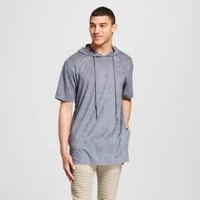 Jackson Men's Short Sleeve Suede Hooded Sweatshirt Slate