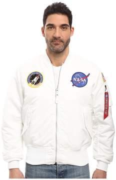 Alpha Industries NASA MA-1 Flight Jacket Men's Coat