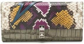 Vivienne Westwood snake print long wallet