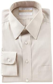 Roundtree & Yorke Gold Label Non-Iron Full-Fit Point Collar Striped Dress Shirt