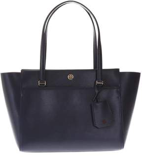 Tory Burch Parker Small Leather Bag - TORY NAVY/SAMBA - STYLE