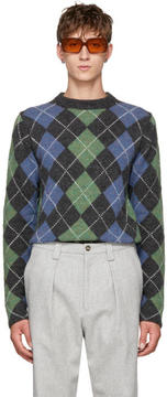 Acne Studios Grey Newton Sweater
