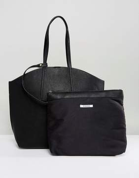 Pieces Shopper Bag With Removable Pouch
