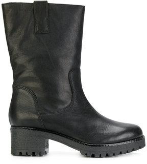 P.A.R.O.S.H. ridged mid-heel boots