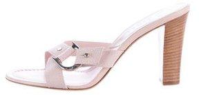 Christian Dior Logo-Accented Slide Sandals