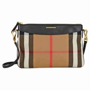 Burberry Horseferry Check Leather Clutch - Black - BLACK GLD HRDWRE - STYLE