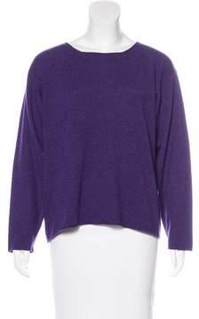 eskandar Cashmere Bateau Neck Sweater