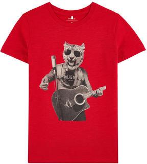 Name It Graphic organic cotton T-shirt
