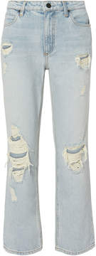 Alexander Wang Cult Cropped Jeans