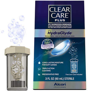 Clear Care Plus HydraGlyde Cleaning and Disinfecting Solution