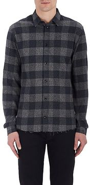 IRO Men's Calfo Plaid Cotton Flannel Shirt