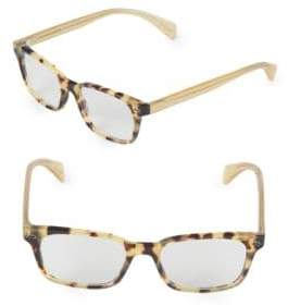 Paul Smith Poe 51MM Rectangular Optical Glasses