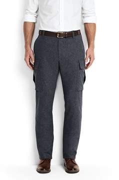 Lands' End Lands'end Men's Utility Fit Wool Cargo Pants