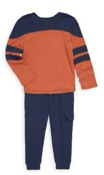 Splendid Little Boy's Two-Piece Stripe Sweater & Cotton Pants Set