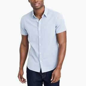 J.Crew Mercantile Slim-fit short-sleeve seersucker shirt