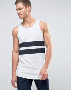 Jack and Jones Core Tank with Printed Stripe