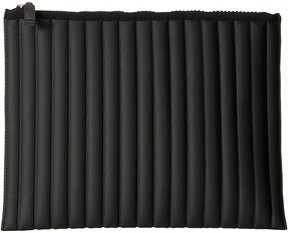 NO KA'OI - Striped Gummed Pouch Clutch Handbags