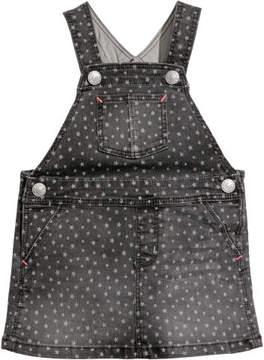 H&M Denim Bib Overall Dress - Black