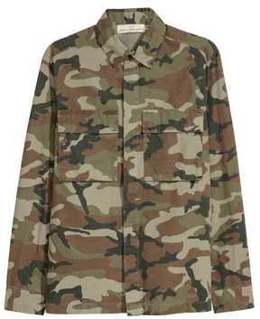 H&M Patterned Shirt Jacket