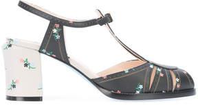 Fendi flower print sandals