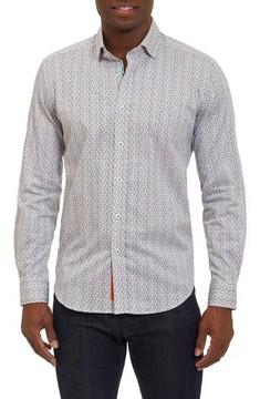 Robert Graham Men's Phillip Print Sport Shirt