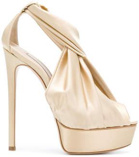 Casadei wrap detail sandals