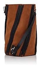 Proenza Schouler Women's Hex Suede Convertible Bucket Bag - Brown