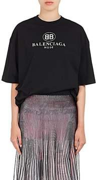 Balenciaga Women's Logo-Print Cotton T-Shirt