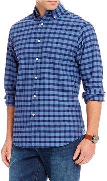 Daniel Cremieux Check Oxford Long-Sleeve Woven Shirt