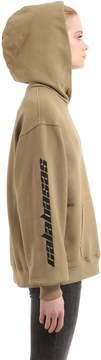Yeezy Calabasas Hooded Cotton Sweatshirt