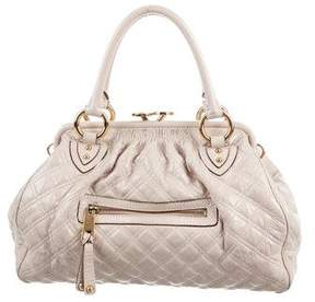 Marc Jacobs Patent Leather Stam Bag - NEUTRALS - STYLE