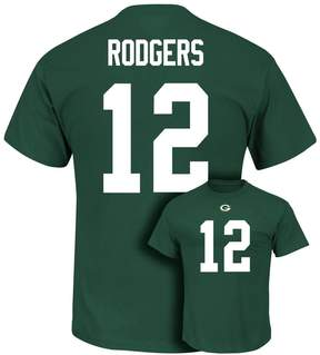 Majestic Men's Green Bay Packers Aaron Rodgers Eligible Receiver Tee